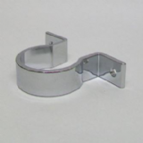 Chrome Wall Bracket Pipe Clip for 35mm Basin Waste - 68000002